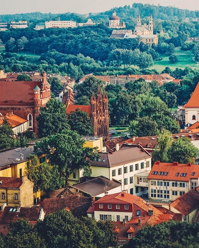 Столиця Литви - Вільнюс